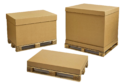 Pallet packs box packaging Small