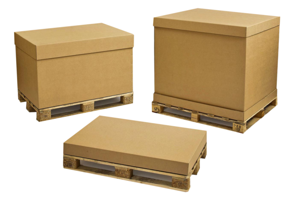 Pallet packs box packaging Main
